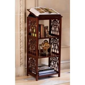 Gothic Wooden Saint Thomas Aquinas Book Stand