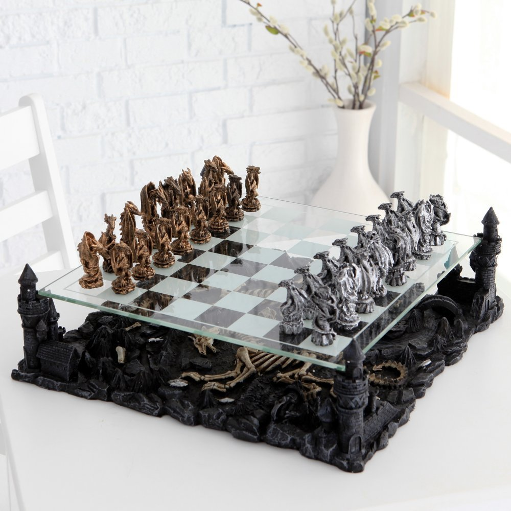 medieval chess sets: cool gothic chess for all! - gothicdecor