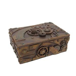Steampunk Trinket / Jewelry Box Steam Punk Stash