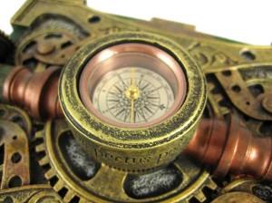 Awesome. A frickin' compass!