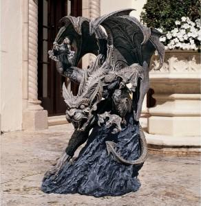 garden gargoyle statue 10