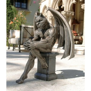 13 Awesome Garden Gargoyle Statues Available Online GothicDecornet