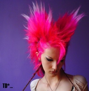 best womens gothic hairstyle 2
