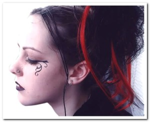 best womens gothic hairstyle 6