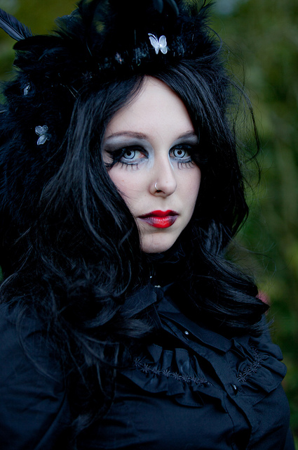 Gothic hairstyles!