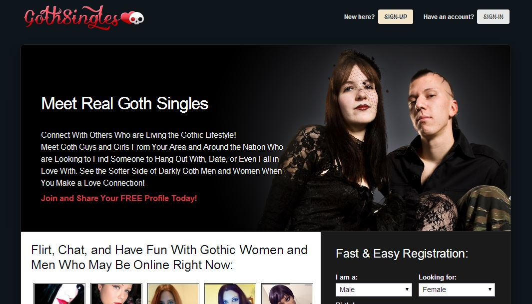 gothic dating website Dark music pioneers and original halloween music maestros gothic, horror, fantasy orchestral instrumental music blended with sound effects designed to transport you to worlds of your own creation for over nineteen years, the premiere producers of dark atmosphere for the halloween, haunted house, amusement park,.