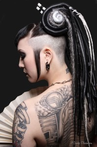 gothic hairstyle 6